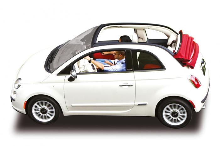 Fiat 500 Cabrio Automatic A/C